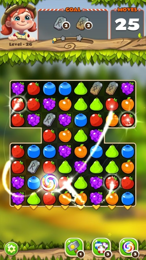 Fruits POP - Jungle Adventure