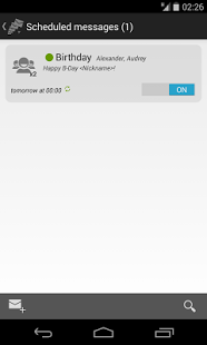 SMS Flow scheduler +