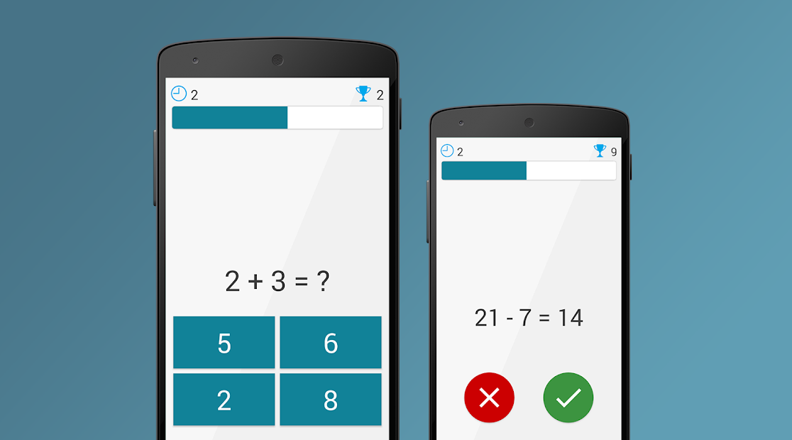 Math Exercises for the brain, Puzzles Math Game [Mod]