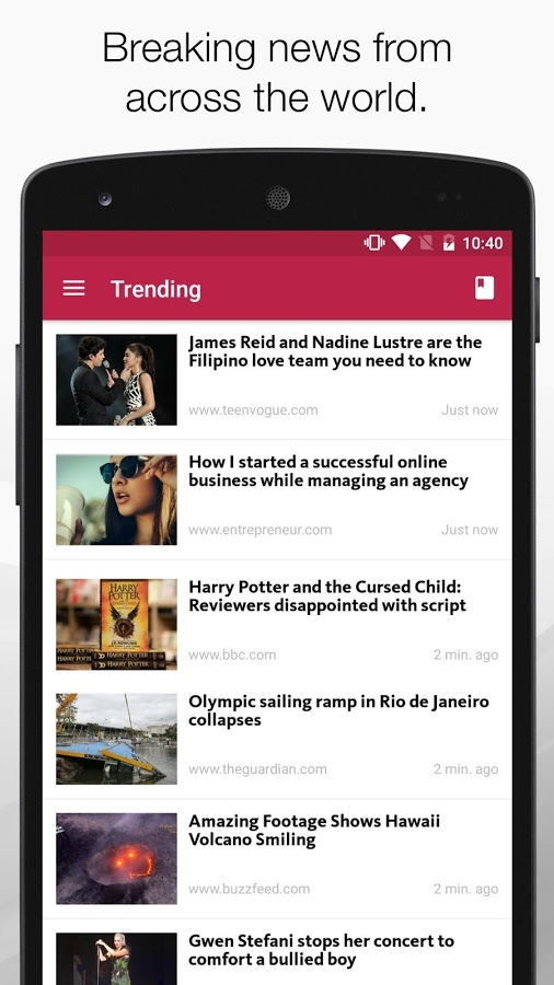 FeedNews: AI curated news app
