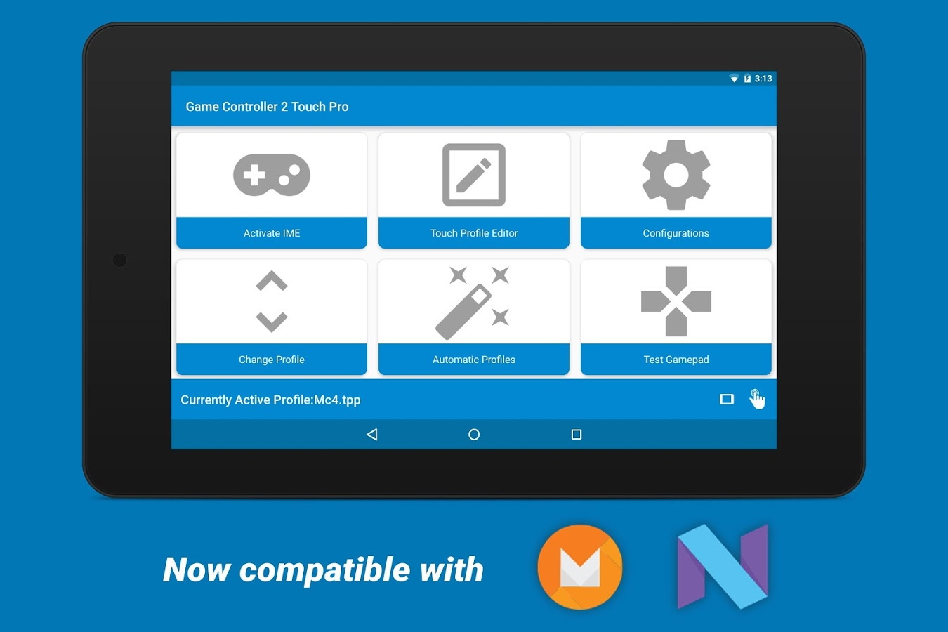 Download Game Controller 2 Touch PRO For Android   Game Controller 2