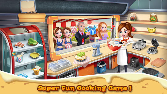 Rising Super Chef - Craze Restaurant Cooking Games  (Mod Mon