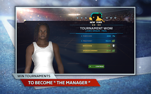 Tennis Manager Mobile 2021