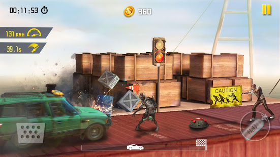 Zombie Road Escape- Smash all the zombies on road (Mod Money