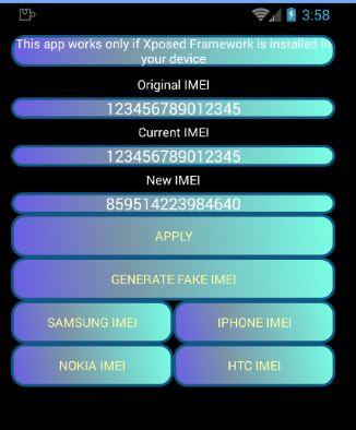 imei changer apk no root