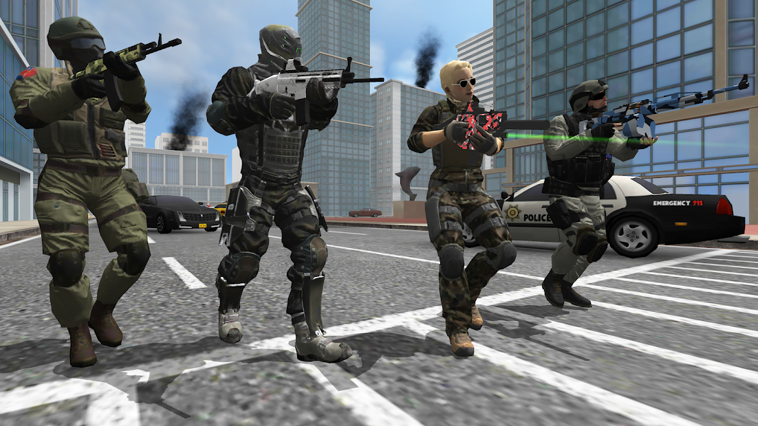 Earth Protect Squad: Third Person Shooting Game(Free Shoppin
