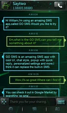 GOSMS Pro Android Theme