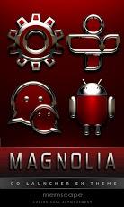 Magnolia GO Launcher EX Theme