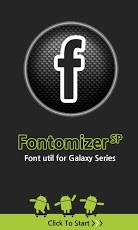 Fontomizer SP(Font for Galaxy)