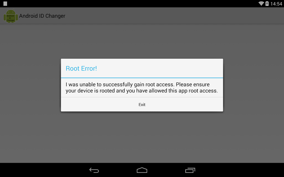 Download [ROOT] Android ID Changer For Android | [ROOT] Android ID