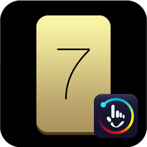 Download TouchPal Keyboard 7 Gold Theme 1 1 APK For Android
