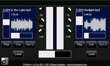 DJPad Audio DJ App