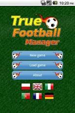 True Football Manager