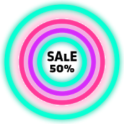 Neon Glow Rings - Icon Pack