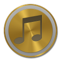 PowerAmp Skin Gold 1.5.2